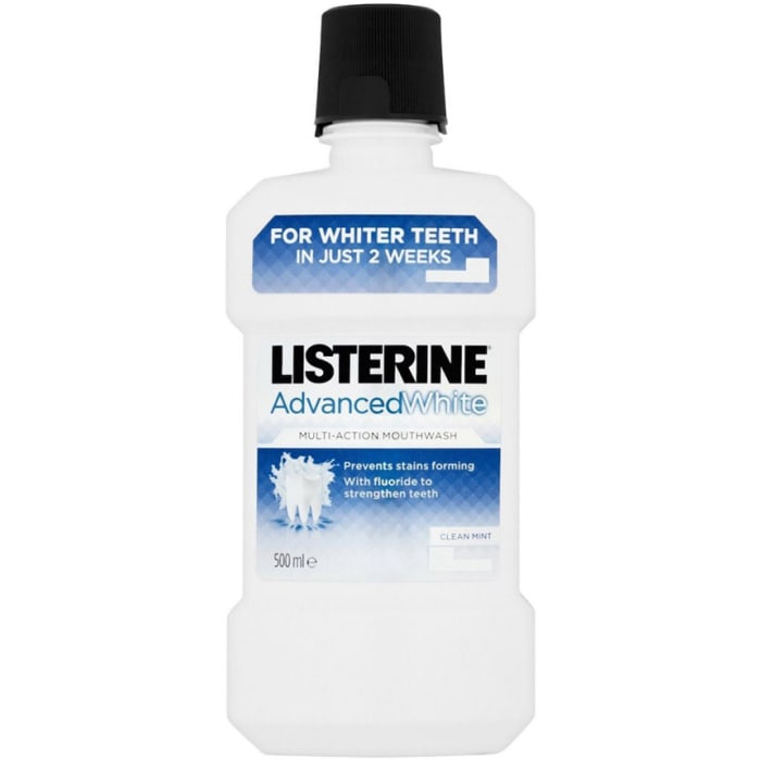 Listerine Advanced Defence Whitening Mouthwash