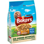 Purina  Dog Foods Bakers Tasty Chicken