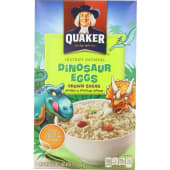 Quaker  Instant Oatmeal Brown Sugar Dinosaur Eggs