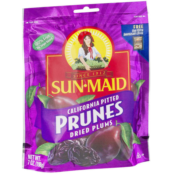 Sunmaid California Pitted Prunes Dried Plums
