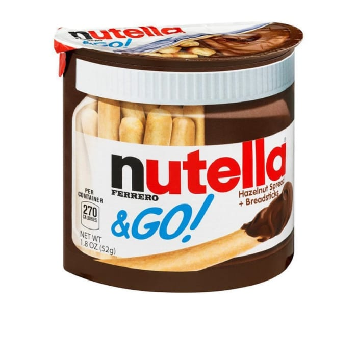 Ferrero Nutella & Go! Hazelnut Spread and Breadsticks