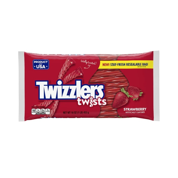 Twizzlers Candy Strawberry Twists