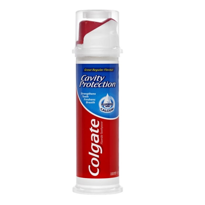 Colgate Cavity Protection Regular Toothpaste Pump