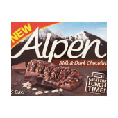 Alpen Milk & Dark Chocolate Bars