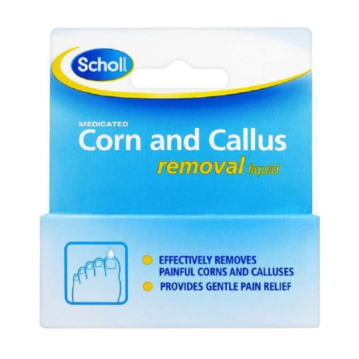 Scholl Medicated Corn and Callus Removal Liquid