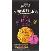 Tesco Finest Free From Oat And Raisen Cookies 150g