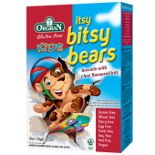 Orgran Gluten Free Itsy Bitsy Bears Biscuits