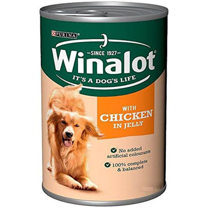 Winalot Duck & Chicken Jelly Dog Food