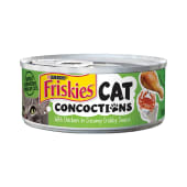Purina Friskies Cat Concoctions Pate With Chicken In Creamy Crabby Sauce Wet Cat Food