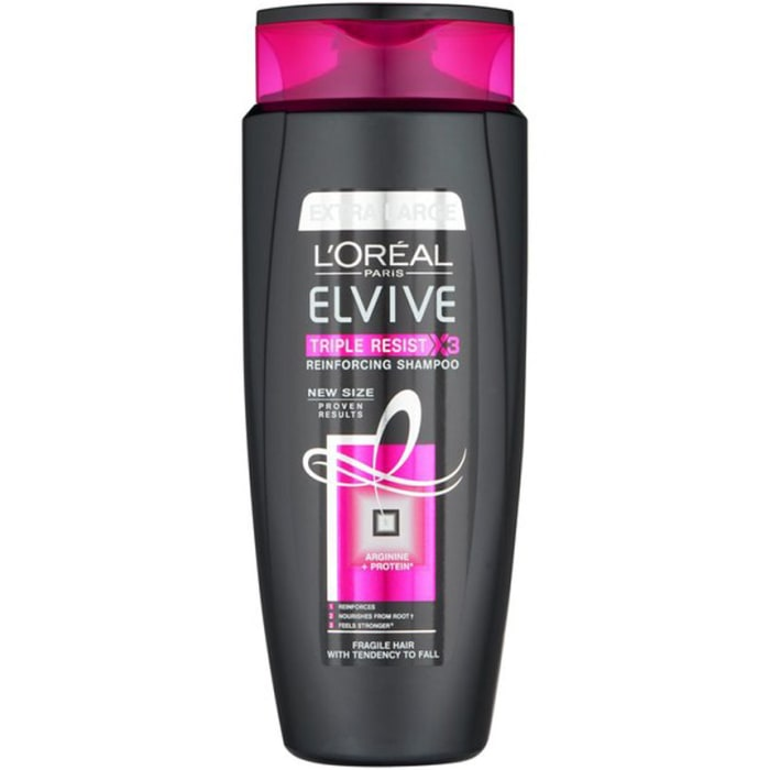Loreal Elvive Triple Resist Shampoo