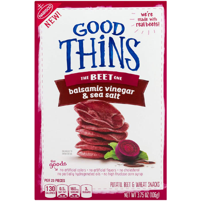 Nabisco Good Thins Crackers With Balsamic Vinegar & Sea Salt  106g