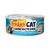 Purina Friskies Cat Concoctions with Cod in Cheesy Bacon Flavored Sauce Wet Cat Food