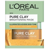 LOreal Paris Pure Clay Mask lemon