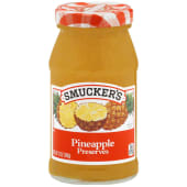 Smuckers Pineapple Preserves Jam