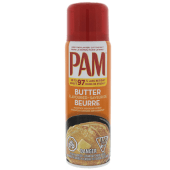 Pam No-Stick Butter Cooking Spray 141 Grams