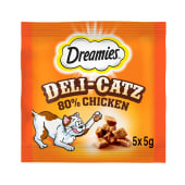 Dreamies Deli Catz Cat Treat Chicken 5x25g