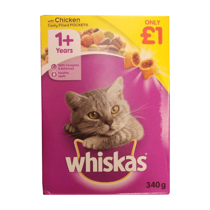 Whiskas with Chicken Cat Food