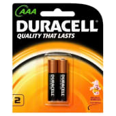 Duracell Alkaline AAA Batteries - 2 Counts