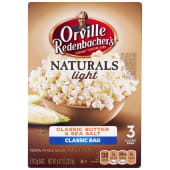 Orville Redenbacher Microwave Popcorn Simply Salted