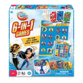 The Wonder Forge DC Super Hero Girls 6-in-1 Games