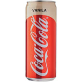 Coca Cola Slim Drink Vanilla Can 320ml