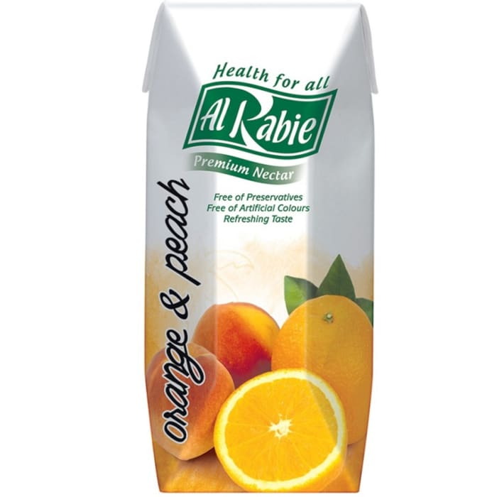 Al Rabie Orange And Peach Juice