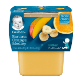 Gerber Banana Orange Medley Sitter 2nd Foods 226 Grams