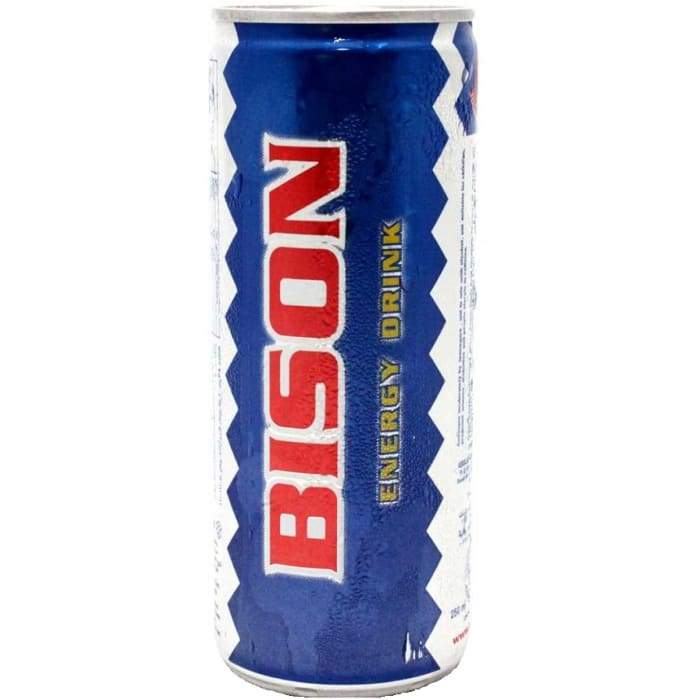 Bison Energy Drink Can