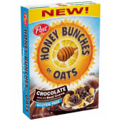 Post Honey Bunches Of Oats Chocolate Cereal 411g