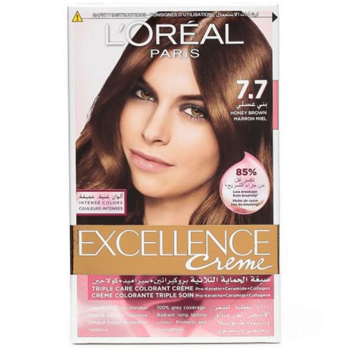 Loreal Hair Color Excellence Creme 7.7 Brown