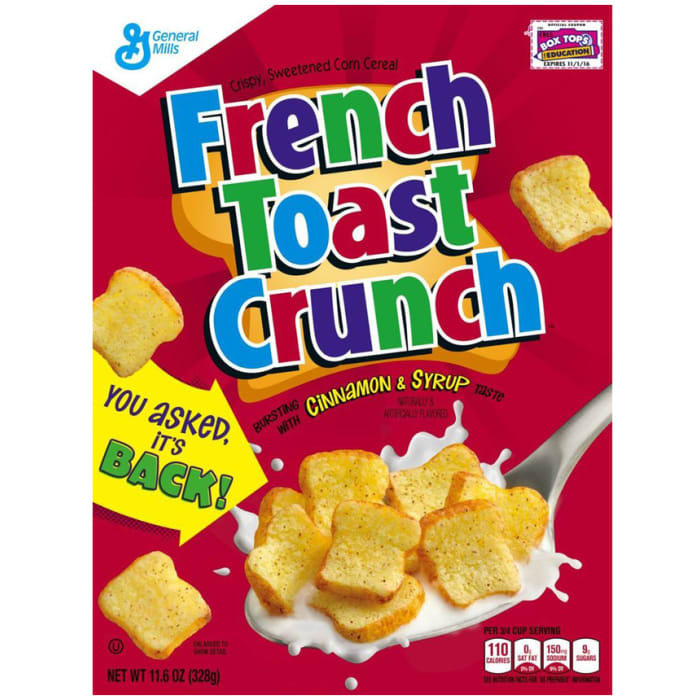 General Mills French Toast Crunch Cinnamon & Syrup Cereal