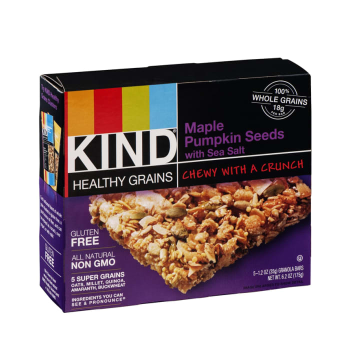 KIND Healthy Grains Bars Maple Pumpkin Seeds with Sea Salt