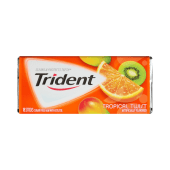 Trident Gum Sugar Free With Xylitol Tropical Twist