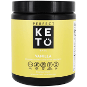Perfect Keto Vanilla Exogenous Ketones Base BHB Salts Supplement 233 Grams