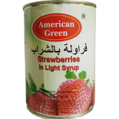 American Green Strawberries Syrup