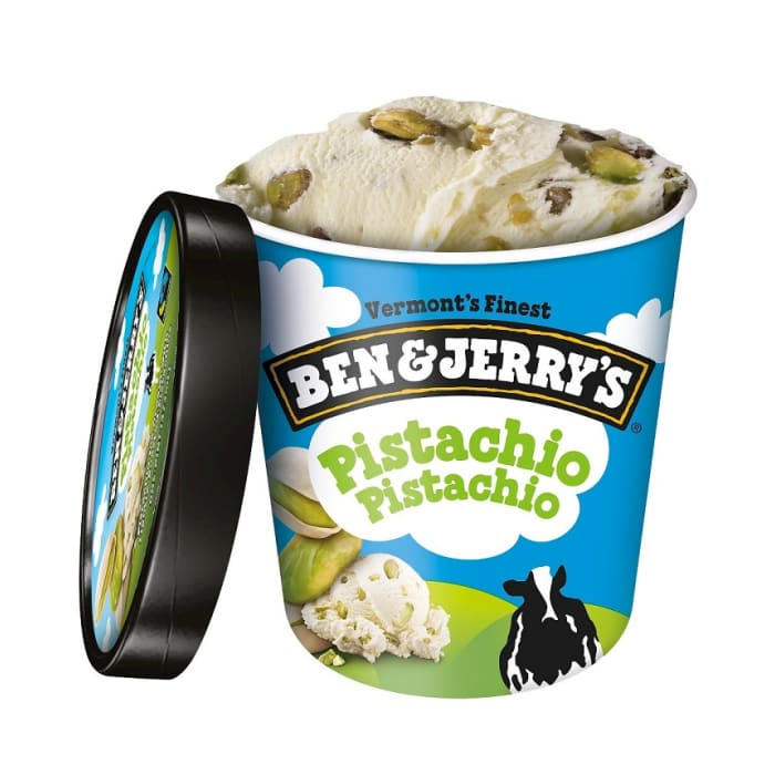 Ben & Jerry's Pistachio Ice Cream