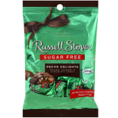 Russell Stover Sugar Free Chocolate Candy Pecan Delight 85g