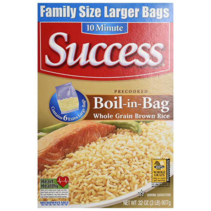 Success Rice Boil-in-Bag Whole Grain Brown