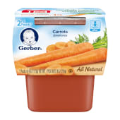 Gerber 2nd  Carrots Baby Food