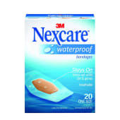 Nexcare Waterproof Clear Bandage One Size