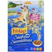 Purina Friskies Seafood Sensations Cat Food 459 Grams