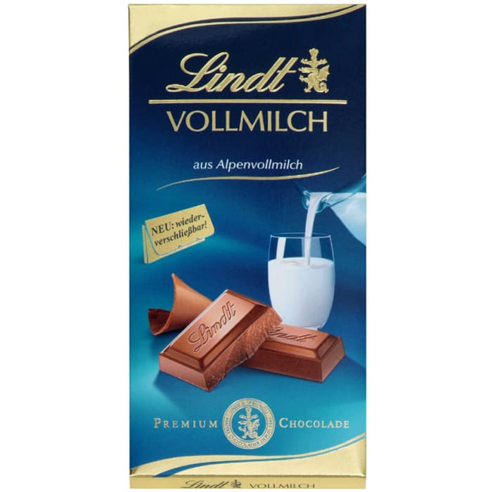 Lindt & Sprüngli Whole Milk Premium Chocolate