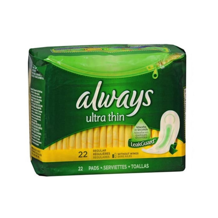 Always Ultra Thin Maxi Regular Lady Pads