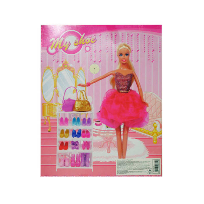 Defa Lucy My Shoe Doll Assorted 8316-3