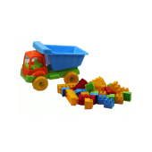 Dede Cement Truck With 30 Blocks 3497