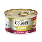 Gourmet Select Cat Food Chicken & Liver