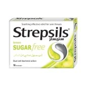 Strepsils Sugar Free Lemon Lozenges Candy