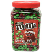 M&M's Chocolate Candy Tub Jar 1760 Grams