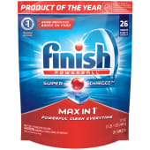 Finish Powerball Super Charged Max in 1 Dishwasher Tablets