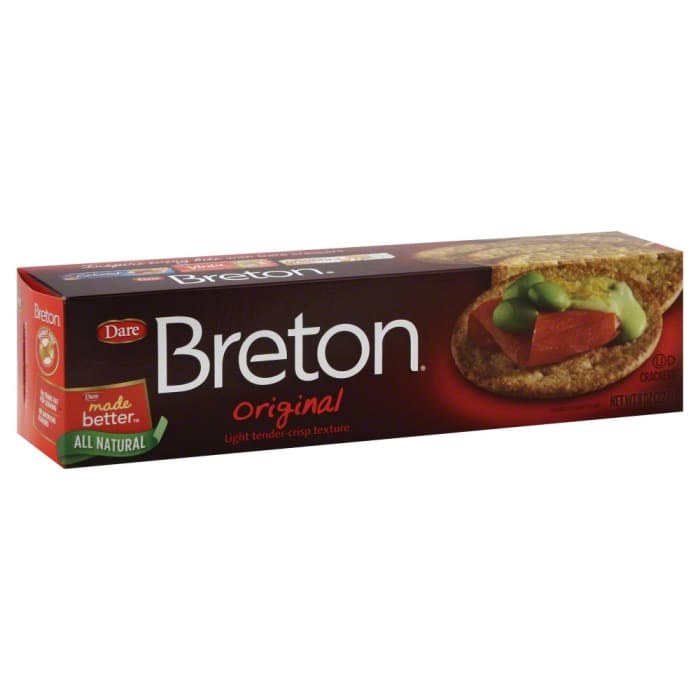 Dare  Whole Grain Crackers Breton Original